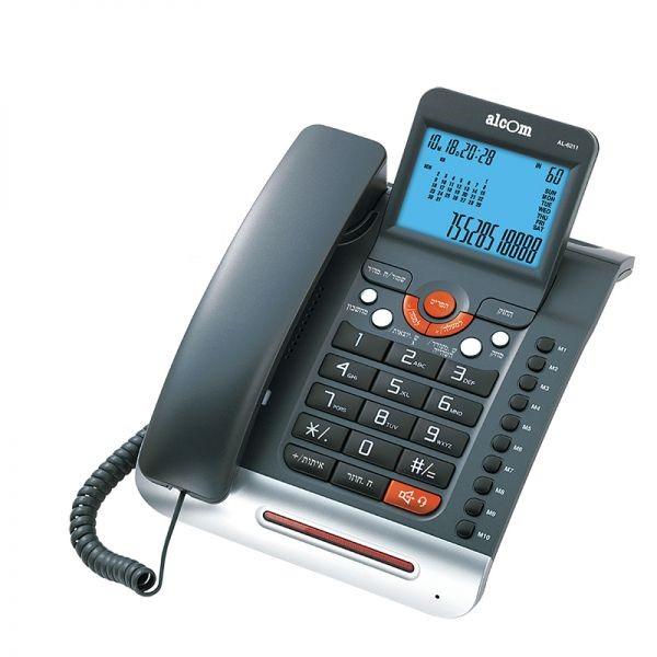 טלפון שולחני חכם עם צג ענק