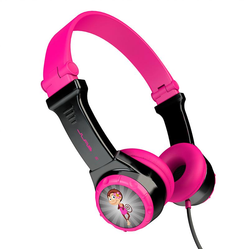 אוזניות חוטיות מתקפלות לילדים