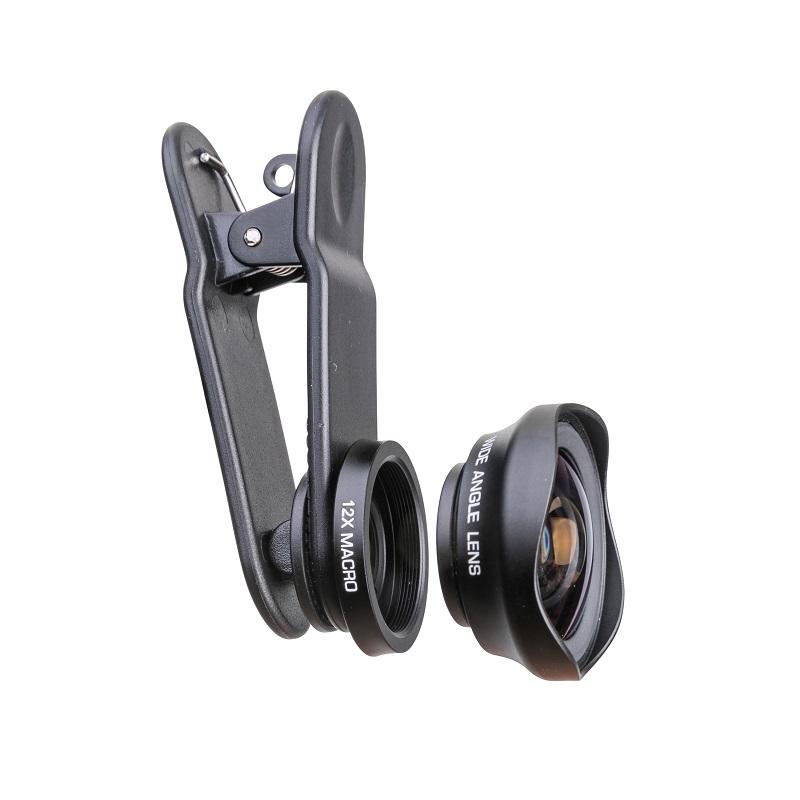 עדשה משולבת לטלפונים ניידים Pictar Smart Lens Wide Angle 16 MM / Macro Lens