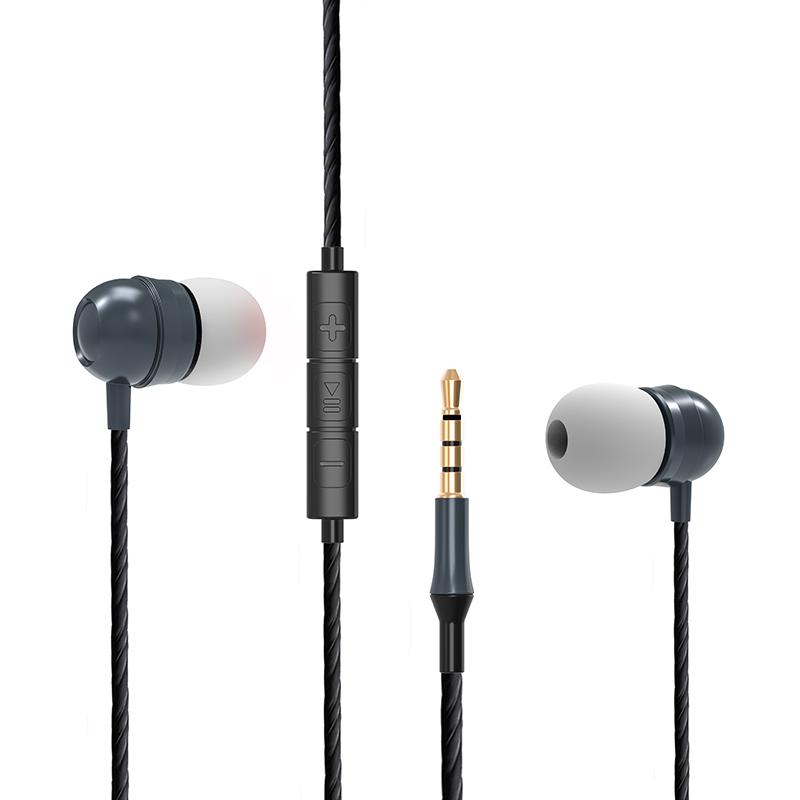 אוזניות In-Ear חוטיות עם באס מודגש