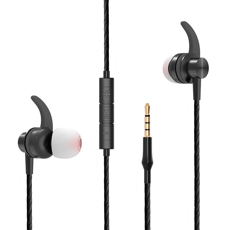 אוזניות In-Ear חוטיות לספורט