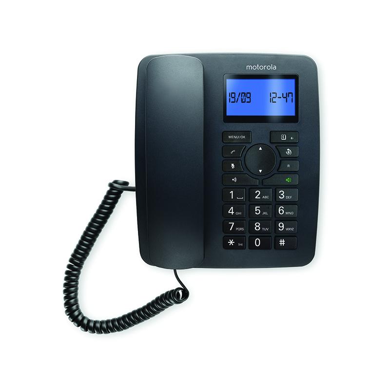 טלפון שולחני מעוצב עם שלוחה אלחוטית