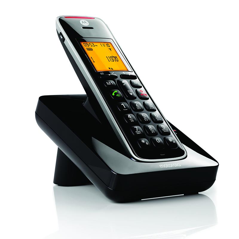 טלפון אלחוטי דיגיטלי בעל עיצוב מרשים