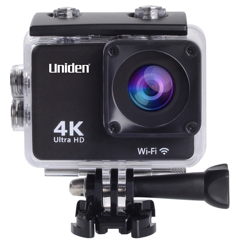 מצלמת אקסטרים 4K עם מסך 2″ ו-GPS