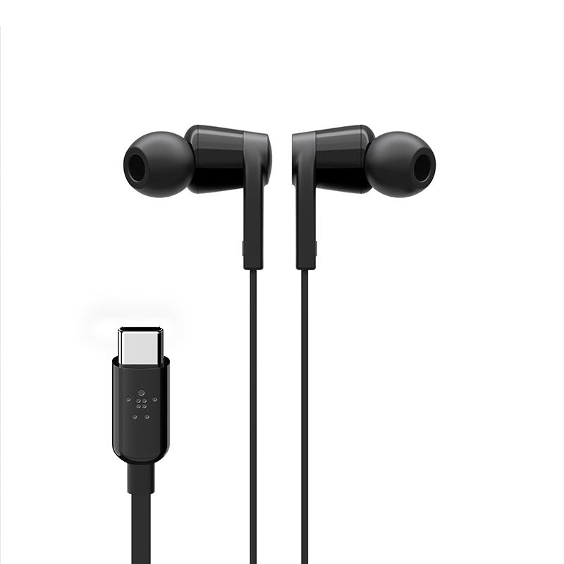 אוזניות Rockstar עם חיבור Type C