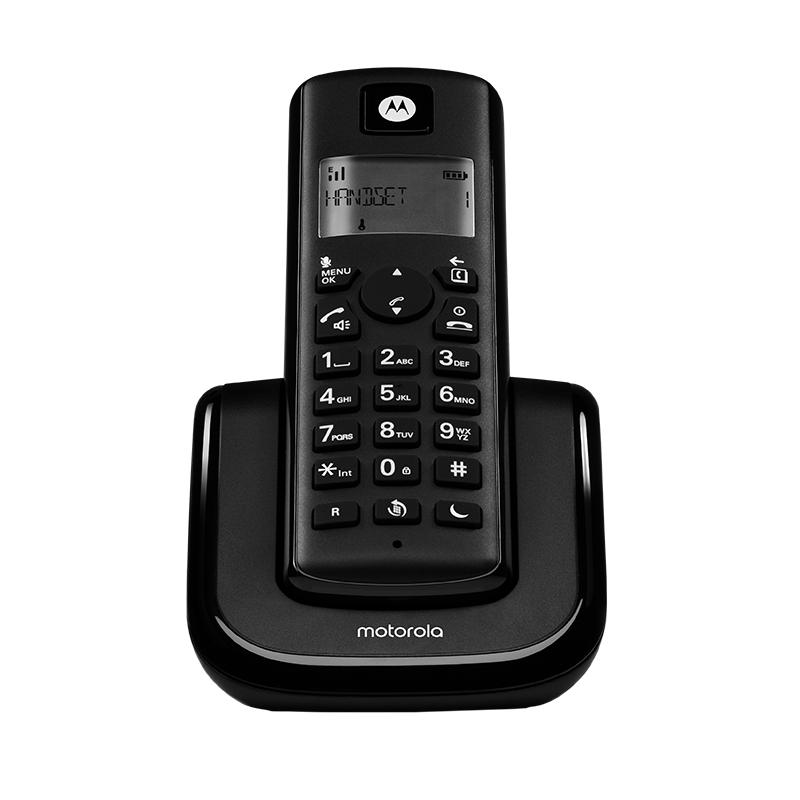 טלפון אלחוטי עם צג מואר ודיבורית