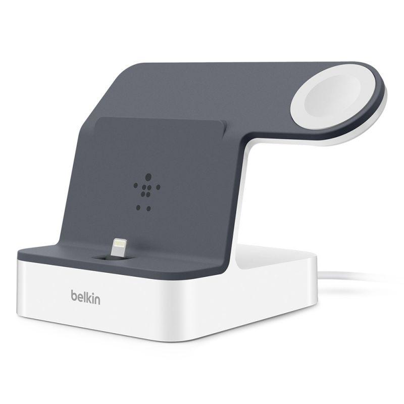 עמדת טעינה לאייפון ול- Apple Watch דגם PowerHouse