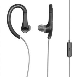 אוזניות ספורט חוטיות עם מיקרופון
