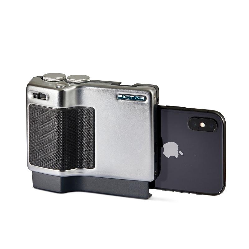 גריפ מתקדם למצלמת טלפון חכם עם טעינה אלחוטית Pictar ProCharge Smartphone Camera Grip