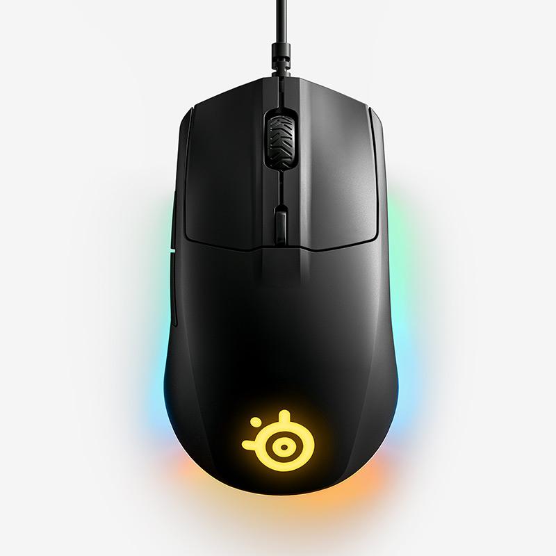 עכבר גיימינג עם חיישן אופטי