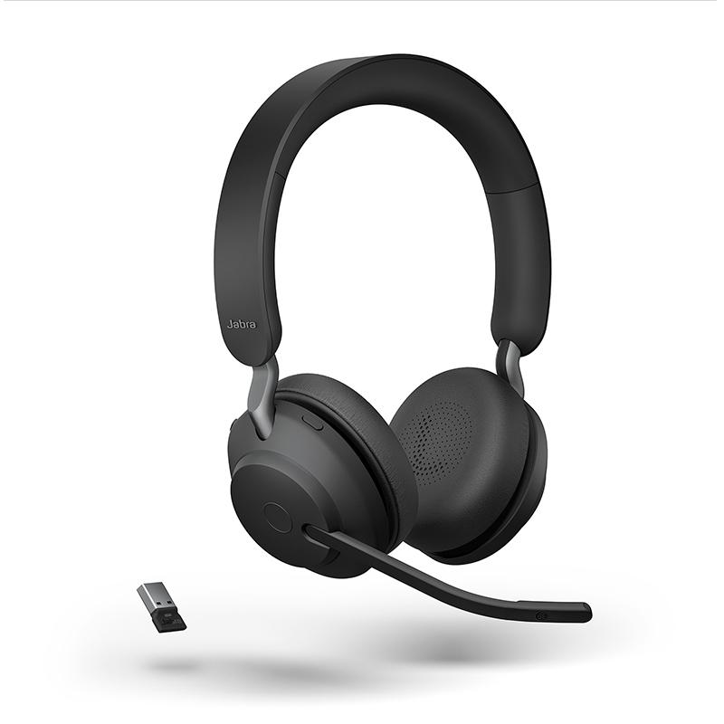 מערכת ראש אלחוטית סטריאו עם סינון רעשים פסיבי בחיבור USB-A מותאם ל-MS