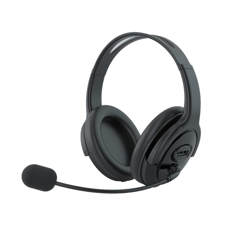 אוזניות למחשב בחיבור USB - מתאימות לשיחות זום
