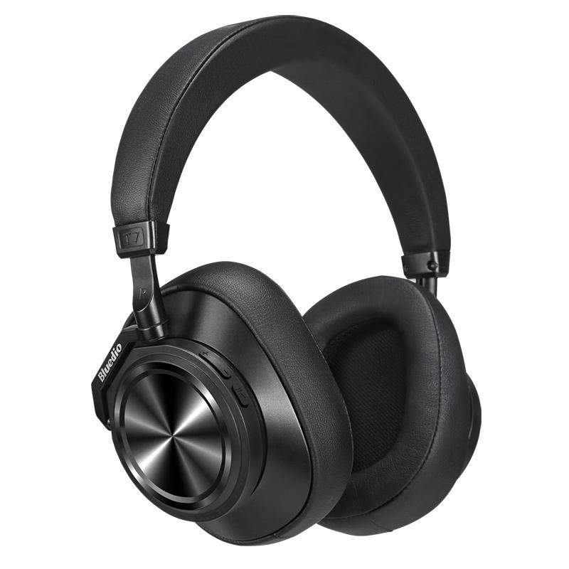 אוזניות אלחוטיות Over-Ear עם מסנן רעשים אקטיבי וחריץ לכרטיס זיכרון