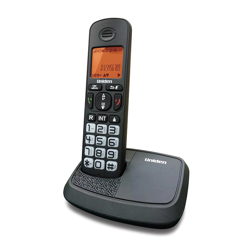 טלפון אלחוטי עם צג שיחה מזוהה ודיבורית